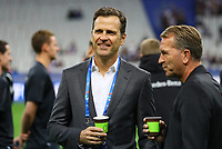 Teammanager der Nationalmannschaft Oliver Bierhoff (Deutschland Germany), Torwarttrainer Andreas Koepke (Deutschland Germany)- 16.10.2018: Frankreich vs. Deutschland, 4. Spieltag UEFA Nations League, Stade de France, DISCLAIMER: DFB regulations prohibit any use of photographs as image sequences and/or quasi-video.