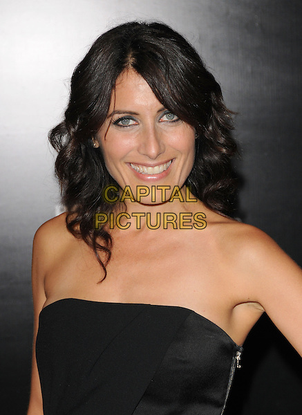 LISA EDELSTEIN.The 2009 Rodeo Walk of Style Awards held at Rodeo Dr. in Beverly Hills, California, USA..October 22nd, 2009.headshot portrait black strapless .CAP/RKE/DVS.©DVS/RockinExposures/Capital Pictures.