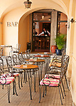 Bar and restaurant at Hotel Florence in Bellagio, Italy on Lake Como