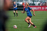 Kansas City, MO - Saturday September 9, 2017: Brittany Ratcliffe during a regular season National Women's Soccer League (NWSL) match between FC Kansas City and the Chicago Red Stars at Children's Mercy Victory Field.