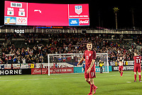 Carson, CA - Sunday January 28, 2018: Jordan Morris, American Outlaws, USMNT, Fans during an international friendly between the men's national teams of the United States (USA) and Bosnia and Herzegovina (BIH) at the StubHub Center.
