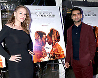 "LOS ANGELES - DEC 4:  Emily V Gordon, Kumail Nanjiani at the ""If Beale Street Could Talk"" Screening at the ArcLight Hollywood on December 4, 2018 in Los Angeles, CA"