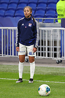 20191116 – LYON ,  FRANCE ; Lyon's  Sarah Bacha is pictured during the warm up before the women's soccer game between Olympique Lyonnais and PARIS SG on the 9th matchday of the French Women's first league , D1 of the 2019-2020 season , Saturday 16 th November 2019 at the Groupama stadium in Lyon , France . PHOTO SPORTPIX.BE   SEVIL OKTEM