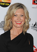 LOS ANGELES, CA - JANUARY 12: Olivia Newton John attends the 2013 G'Day USA Black Tie Gala at JW Marriott Los Angeles at L.A. LIVE on January 12, 2013 in Los Angeles, California.PAP0101387.G'Day USA Black Tie Gala PAP0101387.G'Day USA Black Tie Gala
