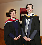 19/1/2015   (with compliments)  Attending the University of limerick conferrings on Monday afternoon was Neil Farrell, Cahir conferred with a MSc in Risk Management and Insurance and Course Director Dr Orla McCullagh, Dept of Accounting & Finance, KBS, UL..  Picture Liam Burke/Press 22