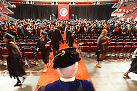 06132010- Seattle University graduate commencement at Key Arena