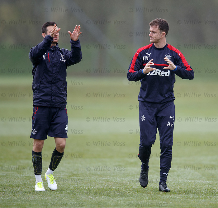 Jason Holt and Andy Halliday