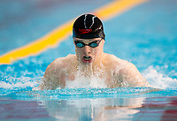 Picture by Allan McKenzie/SWpix.com - 05/08/2017 - Swimming - Swim England National Summer Meet 2017 - Ponds Forge International Sports Centre, Sheffield, England - Daniel New races in the mens 15yrs 50m breaststroke.