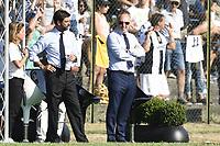 Villar Perosa (To) 17-08-2017 friendly Match Juventus A - Juventus B / foto Daniele Buffa/Image Sport/Insidefoto<br /> nella foto: Andrea Agnelli-Giuseppe Marotta