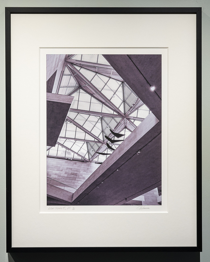 """Framed Size 20""""h x 16""""w, $375<br /> Matte Black Nielsen 117 metal frame<br /> with 8-ply mat"""