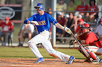 South Dakota State Jackrabbits shortstop Tyler Shannon #1 during a game against the Ohio State Buckeyes at North Charlotte Regional Park on February 23, 2013 in Port Charlotte, Florida.  Ohio State defeated South Dakota State 5-2.  (Mike Janes/Four Seam Images)