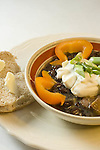 Black bean soup, comfort food,