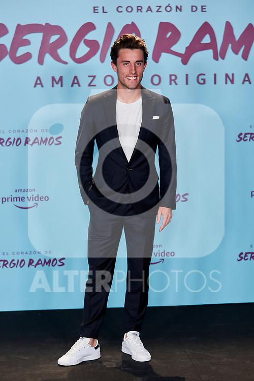 "Alvaro Odriozola attends to ""El Corazon De Sergio Ramos"" premiere at Reina Sofia Museum in Madrid, Spain. September 10, 2019. (ALTERPHOTOS/A. Perez Meca)"