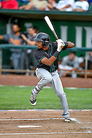 Northwest League All-Star Chris Pieters (15) of the Eugene Emeralds at bat against the Pioneer League All-Stars at the 2nd Annual Northwest League-Pioneer League All-Star Game at Lindquist Field on August 2, 2016 in Ogden, Utah. The Northwest League defeated the Pioneer League 11-5.  (Stephen Smith/Four Seam Images)