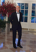 Jeffrey Katzenberg, CEO of Dreamworks Animation arrives at the State Dinner for China's President President Xi and Madame Peng Liyuan at the White House in Washington, DC for an official State Visit Friday, September 25, 2015. Credit: Chris Kleponis / CNP