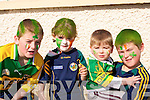 LOOKING: Looking at the Causeway St Patricks Day Parade l-r: James,Matthew,Helena and Daniel Pike from Lixnaw..