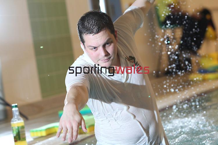 Swimming Coach Richard Bartlett.5.11.10.©Steve Pope