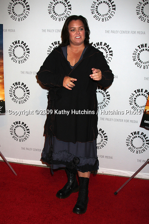 """Rosie O'Donnell arriving at the """"America"""" Screening Event, A Lifetime Movie,  at the Paley Center for Media in Beverly Hills, CA  on.February 24, 2009.©2009 Kathy Hutchins / Hutchins Photo...                ."""