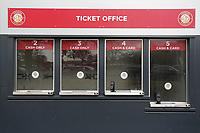The new ticket office during Stevenage vs Peterborough United, Emirates FA Cup Football at the Lamex Stadium on 9th November 2019