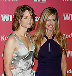 CENTURY CITY, CA. - June 12: Jodie Foster and Holly Hunter arrive at Women In Film's 2009 Crystal + Lucy Awards held at the Hyatt Regency Century Plaza on June 12, 2009 in Century City, California.
