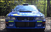 BNPS.co.uk (01202 558833)<br /> Pic: H&amp;H/BNPS<br /> <br /> A remarkable rally car that was driven by racing legend Colin McRae has emerged for &pound;200,000. <br /> <br /> The Subaru Impreza was the Japanese marque's first ever 'World Rally Car' and was produced ahead of the 1997 World Rally Championships. <br /> <br /> The International Automobile Federation announced changes to allow vehicle specifications ahead of the season and the Subaru World Rally Team responded with the model shown here. <br /> <br /> This particular example is so significant because it's chassis 001 - the first to ever come off the production line. <br /> <br /> The 1997 Subaru Impreza WRC will be sold by H&amp;H auctioneers at the Royal Automobile Club in Kent on June 6