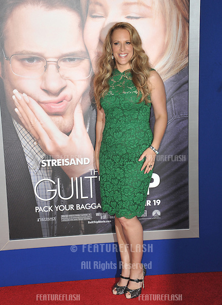 "Director Anne Fletcher at the Los Angeles premiere of her movie ""Guilt Trip"" at the Regency Village Theatre, Westwood..December 11, 2012  Los Angeles, CA.Picture: Paul Smith / Featureflash"