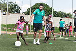 08.01.2019, AMANDLA Save Hub, Johannesburg, RSA, TL Werder Bremen Johannesburg Tag 06 - Besuch des AMANDLA Save Hub<br /> <br /> im Bild / picture shows <br /> <br /> Claudio Pizarro (Werder Bremen #04)<br /> <br /> **** Attention *** **** Attention *** <br /> <br /> Only be used for the purpose of documenting the Safe-Hub visit on 08 January 2019<br /> <br /> Foto © nordphoto / Kokenge