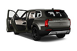 Car images close up view of a 2020 KIA Telluride SX 5 Door SUV doors