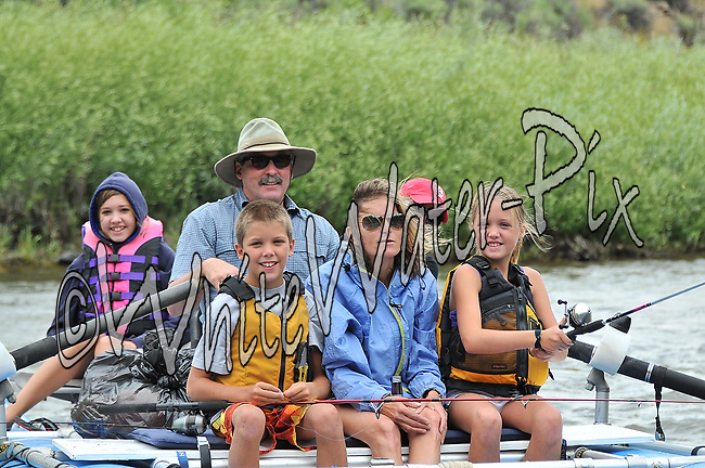 Private Boaters Kayakers & SUP Boarders crashing Cable Rapid while floating the Upper Colorado River from Rancho to Sate Bridge, August 1, 2013, Bond, Colorado - WhiteWater-Pix   River Adventure Photography - by MADOGRAPHER Doug Mayhew
