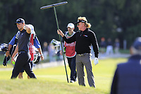 Miguel Angel Jimenez (ESP) on the 17th hole during Thursday's Round 1 of the 2017 Omega European Masters held at Golf Club Crans-Sur-Sierre, Crans Montana, Switzerland. 7th September 2017.<br /> Picture: Eoin Clarke | Golffile<br /> <br /> <br /> All photos usage must carry mandatory copyright credit (&copy; Golffile | Eoin Clarke)
