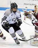 Chris Eppich (Providence 19), John Muse (BC 1) - The Boston College Eagles and Providence Friars played to a 2-2 tie on Saturday, March 1, 2008 at Schneider Arena in Providence, Rhode Island.