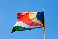 Seychelles: national flag<br />