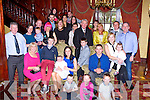 Baby Alex celebrated his christening with his parents Amanda Downing and Marco Keane Killarney, big sister Ava and extended family in the Killarney Avenue Hotel on Saturday