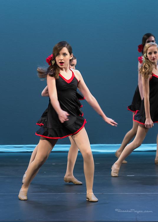 "Dress Rehearsal, 3D Project Jazz Company ""IX"", 9th Annual Spring Showcase, Cary Arts Center, 19 April 2012."