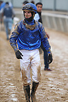 January 24, 2020: Jockey Florent Geroux after the Smarty Jones Stakes at Oaklawn Racing Casino Resort in Hot Springs, Arkansas on January 24, 2020. Justin Manning/Eclipse Sportswire/CSM
