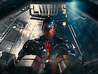 Justice League (2017) <br /> Ray Fisher<br /> *Filmstill - Editorial Use Only*<br /> CAP/KFS<br /> Image supplied by Capital Pictures