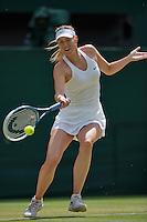 England, London, 28.06.2014. Tennis, Wimbledon, AELTC, Maria Sharapova (RUS)<br /> Photo: Tennisimages/Henk Koster