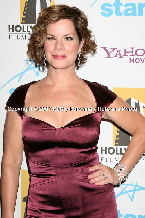 Marcia Gay Harden.Hollywood Film Festival 11th Annual Hollywood Awards Gala.Beverly Hilton Hotel.Beverly Hills,  CA.October 22, 2007.©2007 Kathy Hutchins / Hutchins Photo...               .