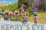 Tom and Louise McCarthy Castleisland climbing Coommosta during their Ring of Kerry cycle on Saturday morning