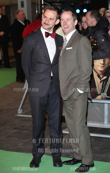 Billy Boyd and Dominic Monaghan arriving for The hobbit Premiere, Odeon Leicester Square, London. 12/12/2012 Picture by: Alexandra Glen / Featureflash