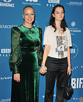 Samantha Morton and Esme Creed-Miles at the British Independent Film Awards (BIFA) 2018, Old Billingsgate Market, Lower Thames Street, London, England, UK, on Sunday 02 December 2018.<br /> CAP/CAN<br /> &copy;CAN/Capital Pictures