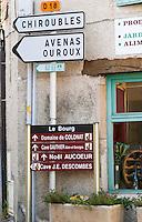 Chiroubles... Beaujolais, Burgundy, France
