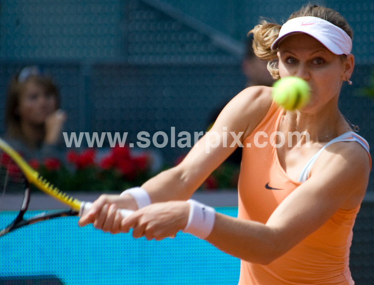 **ALL-ROUND PICTURES FROM SOLARPIX.COM**.**WORLD SYNDICATION RIGHTS EXCEPT BELGIUM, GERMANY, HOLLAND, SCANDINAVIA, SOUTH AMERICA, SPAIN, & USA**.the Madrid Open, Madrid, Spain. 14 May 2010..This pic: Lucie Safarova..JOB REF: 11280 SKX      DATE:  14_05_2010.**MUST CREDIT SOLARPIX.COM OR DOUBLE FEE WILL BE CHARGED**.**MUST NOTIFY SOLARPIX OF ONLINE USAGE**.**CALL US ON: +34 952 811 768 or LOW RATE FROM UK 0844 617 7637**