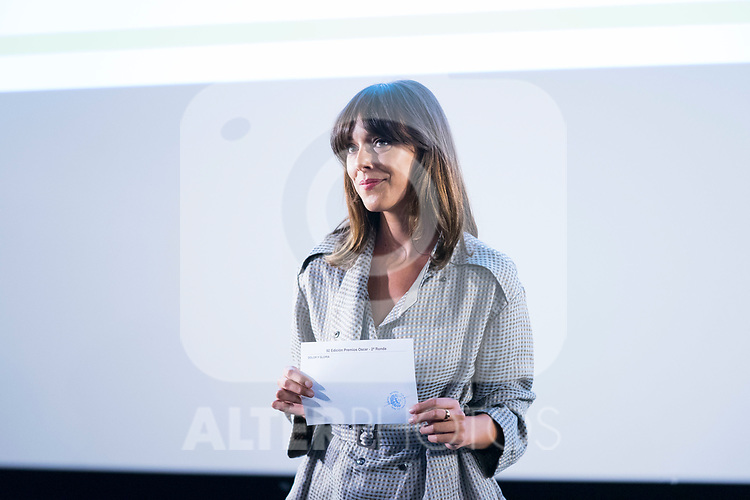 Belen Cuesta announces that 'Dolor y Gloria' will be candidate to the Oscar. September 05, 2019. (ALTERPHOTOS/Francis González)