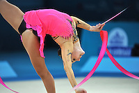 August 29, 2013 - Kiev, Ukraine - Angélica Kvieczynski of Brazil performs at 2013 World Championships.