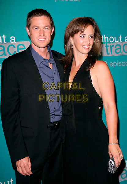 "ERIC CLOSE & WIFE KERI.attend The ""Without A Trace"" 100th Episode celebration.at the Cabana Club in Hollywood, California, USA, September 9th 2006..half length married couple husband.Ref: DVS.www.capitalpictures.com.sales@capitalpictures.com.©Debbie VanStory/Capital Pictures"