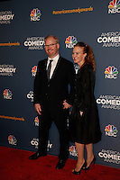 New York, New York - April 26 : Jim Gaffigan and guest attend the American Comedy<br /> Awards held at the Hammerstein Ballroom in New York, New York<br /> on April 26, 2014.<br /> Photo by Brent N. Clarke / Starlitepics /NortePhoto