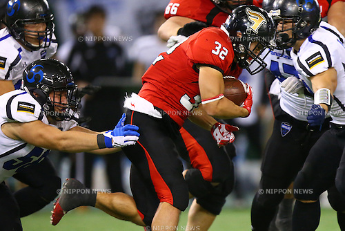 Kei Goto (),<br /> DECEMBER 14, 2015 - American Football : <br /> The 29th Japan American Football Championship<br /> &quot;Japan X Bowl 29&quot; <br /> between Panasonic Impulse 24-21 Fujitsu Frontiers <br /> at Tokyo Dome, Tokyo, Japan. <br /> (Photo by Shingo Ito/AFLO SPORT)