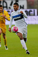Juan Jesus  during the  italian serie a soccer match,between Frosinone and Inter      at  the Matusa   stadium in Frosinone  Italy , April 09, 2016