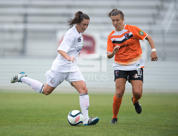Kelsey Fenix, Kaila Sciascia.  The Charlotte Lady eagles defeated the Long Island Rough Riders, 4-0, to advance to the W-League Eastern Conference Championship.